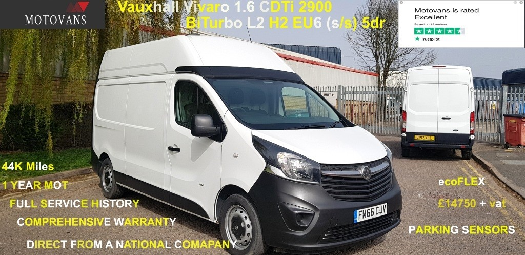 used Vauxhall Vivaro L2H2 2900 CDTI BITURBO S/S in middlesex
