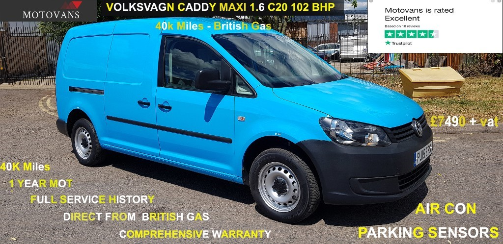 used VW Caddy Maxi C20 TDI STARTLINE in middlesex
