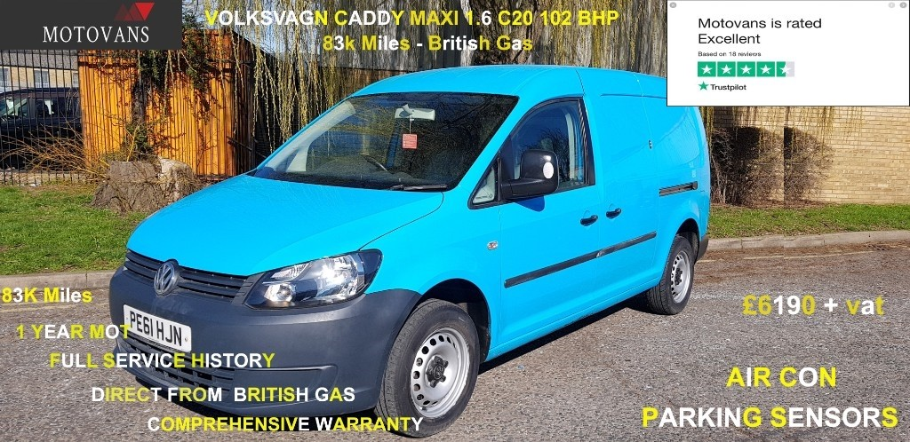 used VW Caddy Maxi C20 TDI in middlesex