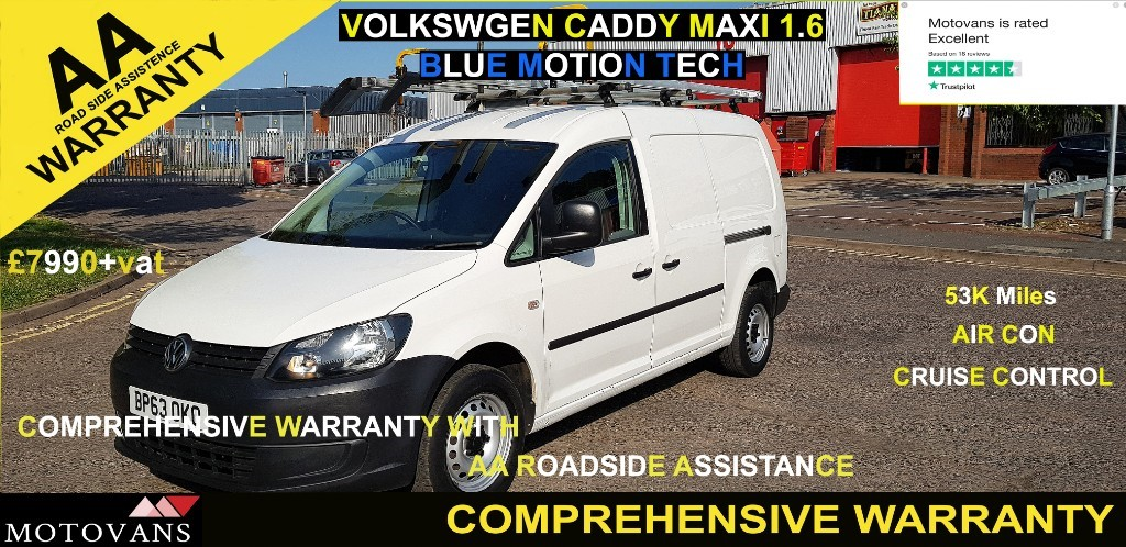 used VW Caddy Maxi C20 TDI STARTLINE BLUEMOTION TECHNOLOGY in middlesex