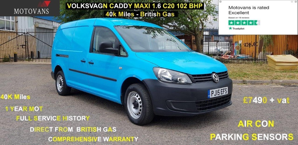 used VW Caddy C20 TDI STARTLINE in middlesex