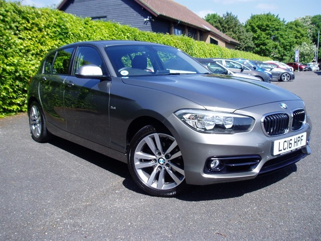 used BMW 118d SPORT in lawford-manningtree