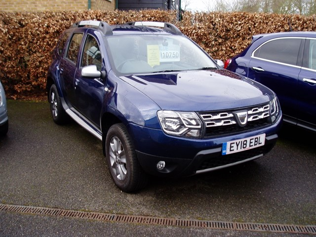 used Dacia Duster NAV PLUS TCE in lawford-manningtree