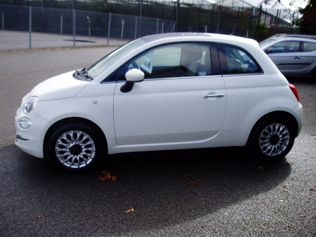 used Fiat 500 LOUNGE in lawford-manningtree