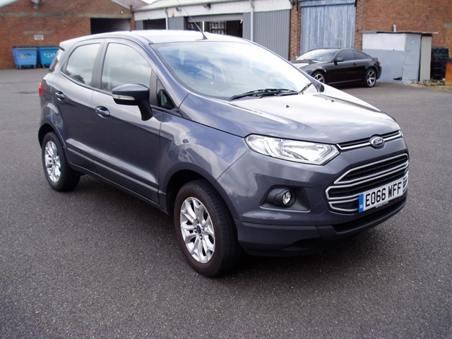 used Ford EcoSport ZETEC in lawford-manningtree
