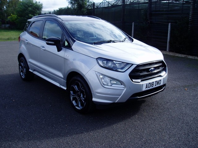 used Ford EcoSport ST-LINE in lawford-manningtree