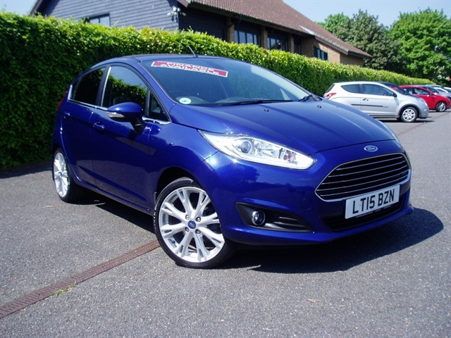 used Ford Fiesta TITANIUM X in lawford-manningtree