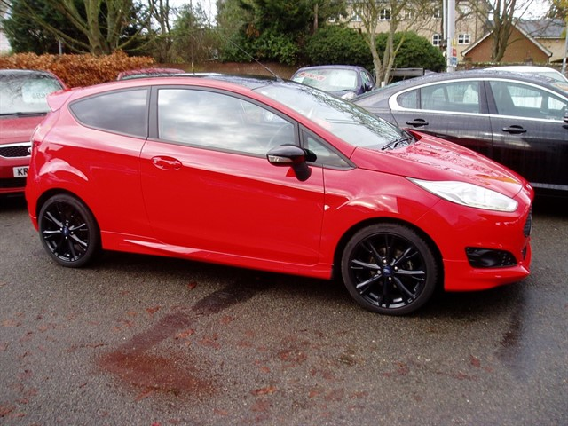 used Ford Fiesta ZETEC S RED EDITION in lawford-manningtree