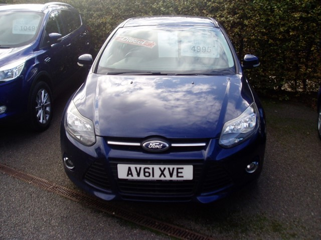 used Ford Focus ZETEC TDCI in lawford-manningtree