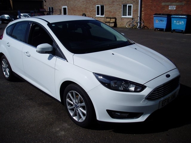 used Ford Focus TITANIUM in lawford-manningtree