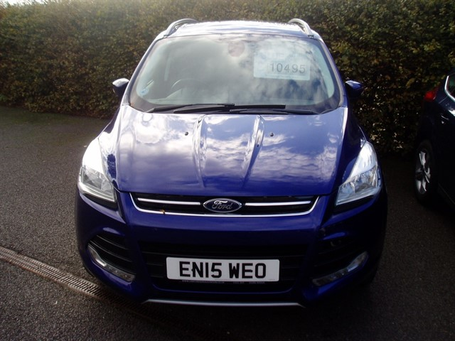 used Ford Kuga TITANIUM TDCI in lawford-manningtree