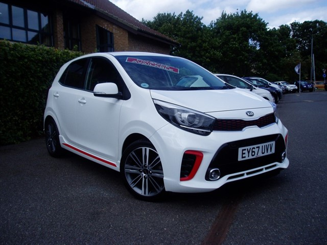 used Kia Picanto GT-LINE in lawford-manningtree
