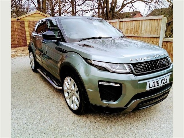 used Land Rover Range Rover Evoque TD4 HSE DYNAMIC in lawford-manningtree