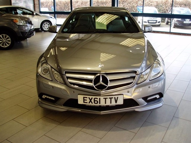 used Mercedes E350 CDI BLUEEFFICIENCY SPORT in lawford-manningtree