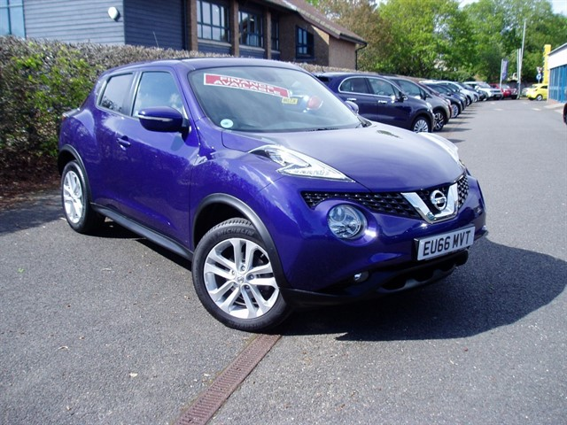 used Nissan Juke N-CONNECTA DIG-T in lawford-manningtree