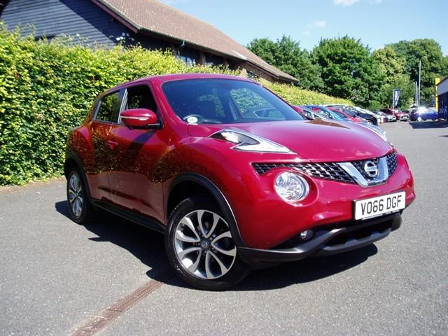 used Nissan Juke TEKNA DIG-T in lawford-manningtree