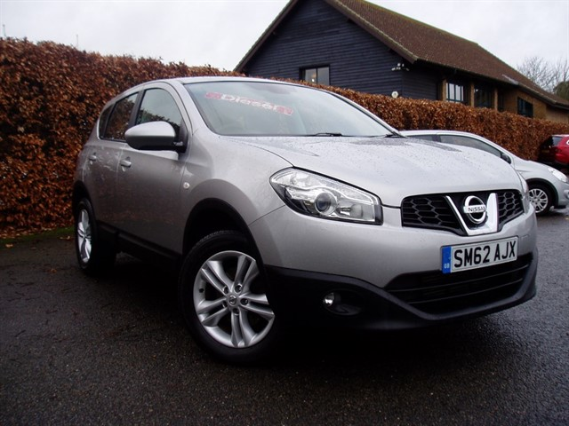 used Nissan Qashqai DCI ACENTA in lawford-manningtree