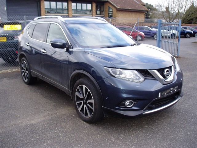 used Nissan X-Trail DCI TEKNA in lawford-manningtree