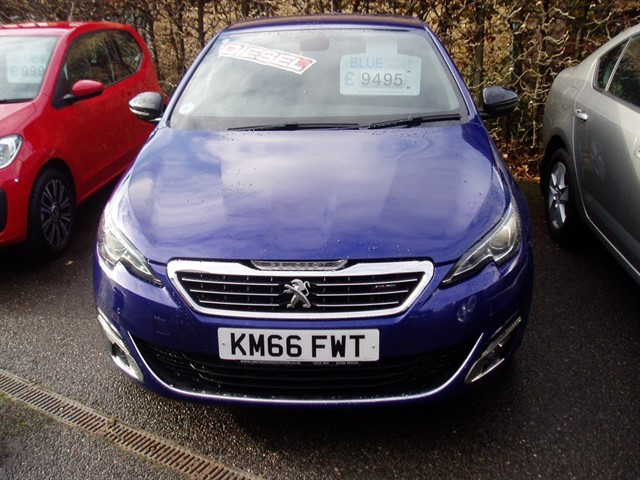 used Peugeot 308 BLUE HDI S/S GT LINE in lawford-manningtree