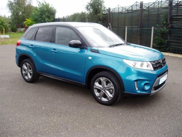 used Suzuki Vitara SZ-T in lawford-manningtree