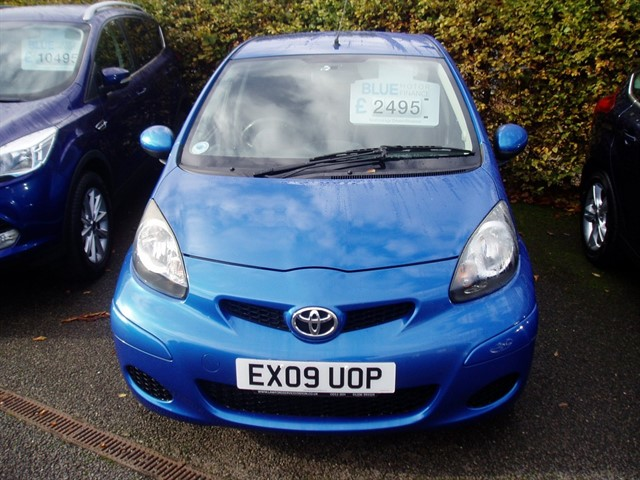 used Toyota Aygo VVT-I BLUE in lawford-manningtree