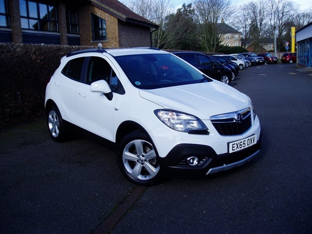 used Vauxhall Mokka EXCLUSIV CDTI S/S in lawford-manningtree