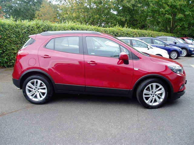 used Vauxhall Mokka X ACTIVE S/S in lawford-manningtree