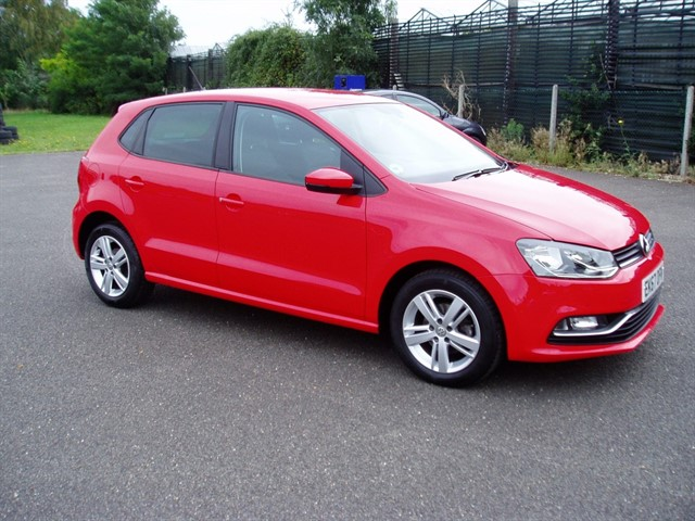 used VW Polo MATCH EDITION TSI in lawford-manningtree