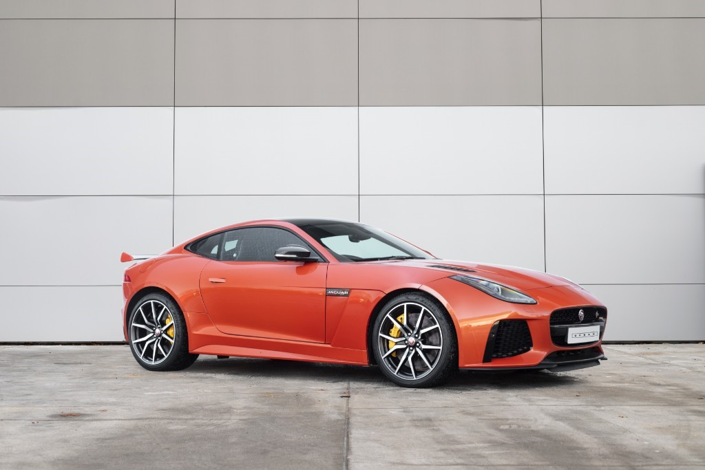 used Jaguar F-Type SVR in milton-keynes-buckinghamshire