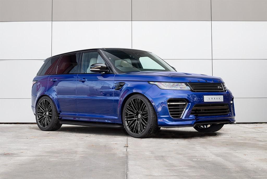 used Land Rover Range Rover Sport SVR in milton-keynes-buckinghamshire