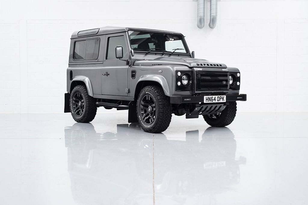 used Land Rover Defender TD XS STATION WAGON in milton-keynes-buckinghamshire