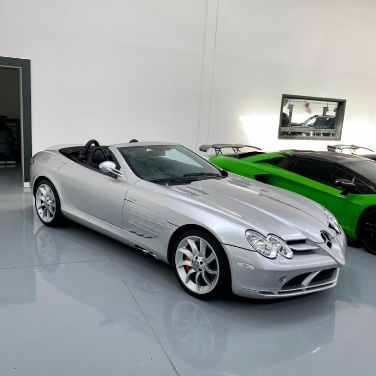 used Mercedes SLR McLaren MERCEDES-BENZ MCLAREN SLR ROADSTER in milton-keynes-buckinghamshire