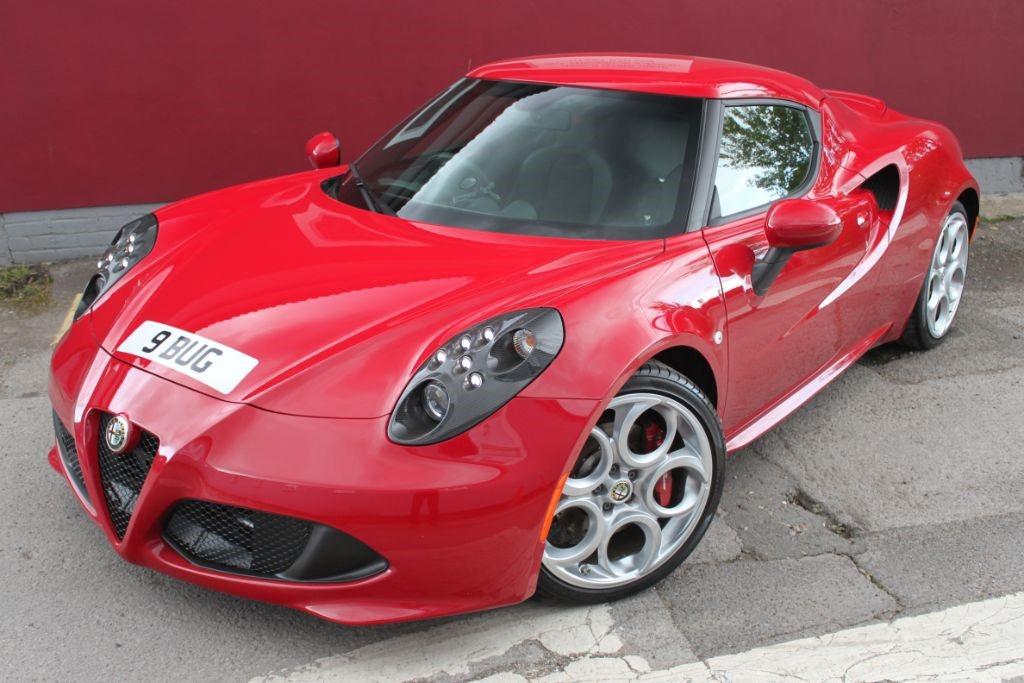 used Alfa Romeo 4C TBI