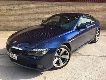 used BMW 635d SPORT