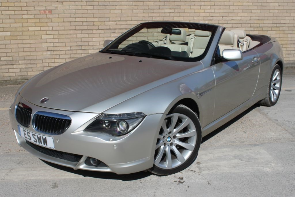used BMW 650i Convertible, Cabriolet Couple Automatic