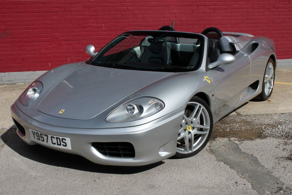 used Ferrari 360 SPIDER Manual 6 Speed