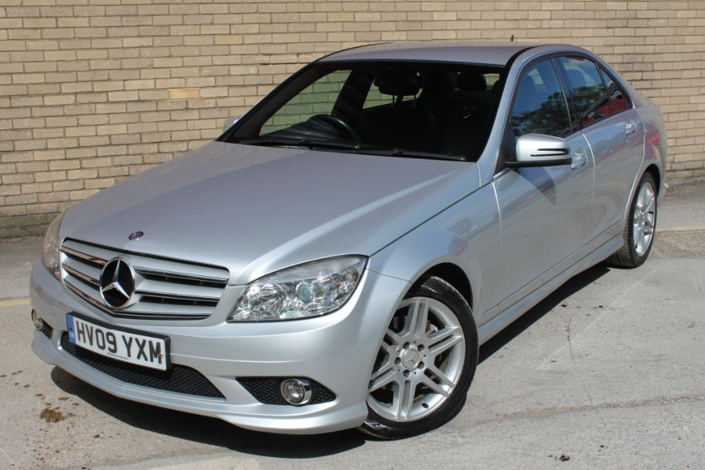 used Mercedes C220 Saloon Automatic half leather part exchange welcome