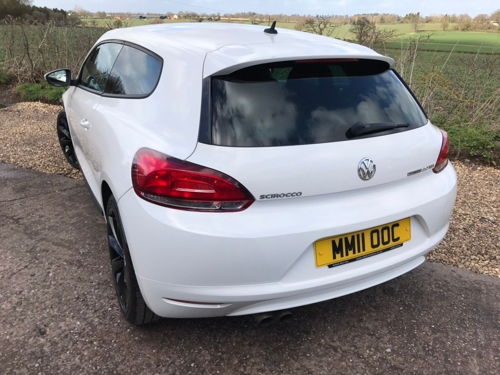 Used White Vw Scirocco For Sale West Midlands