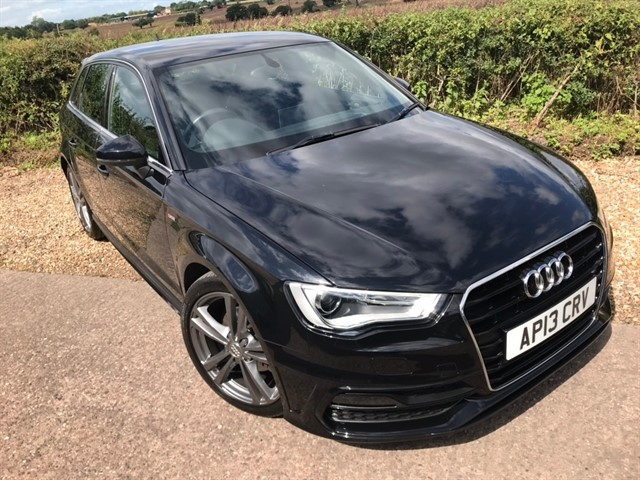 used Audi A3 TFSI S line Sportback 5dr in west-midlands