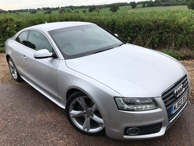 used Audi A5 TFSI S line Special Edition quattro 2dr in west-midlands