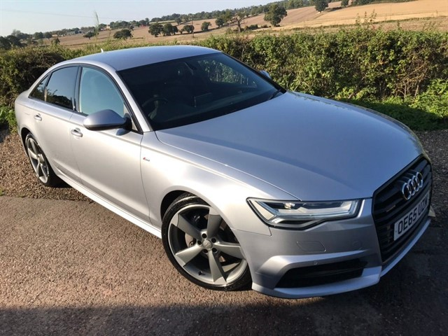 used Audi A6 Saloon TDI V6 Black Edition S Tronic quattro (s/s) 4dr in west-midlands