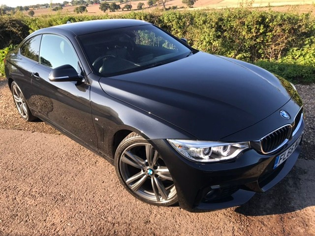 used BMW 420d 4 Series M Sport 2dr in west-midlands