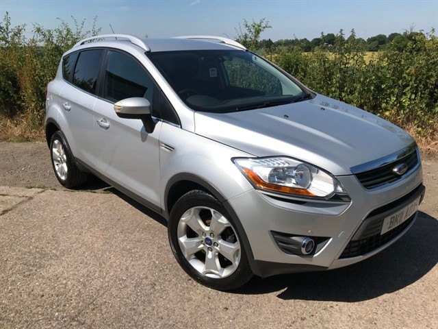 used Ford Kuga TDCi Titanium 4x4 5dr in west-midlands