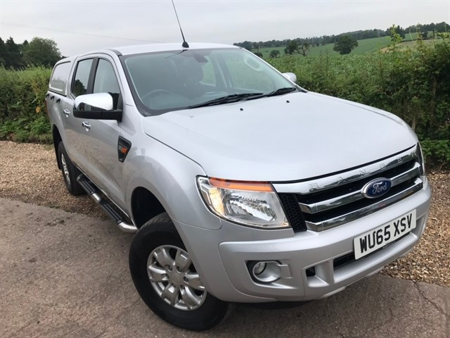 used Ford Ranger TDCi XLT Double Cab Pickup 4x4 4dr (EU5) in west-midlands