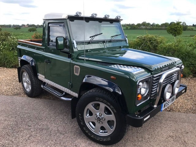 used Land Rover Defender 90 TD5 Pick-Up 2dr Manual (120 bhp) in west-midlands