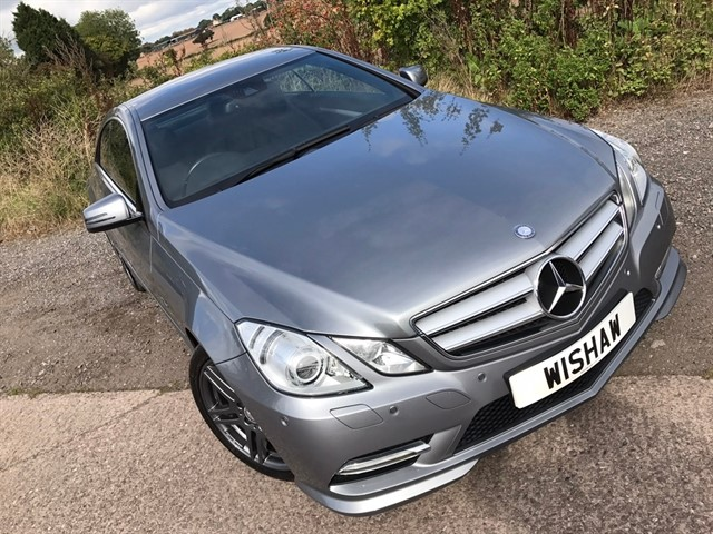 used Mercedes E250 E Class CDI BlueEFFICIENCY Sport 7G-Tronic 2dr in west-midlands