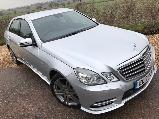 used Mercedes E350 E Class CDI BlueEFFICIENCY Sport Edition 125 G-Tronic 4dr in west-midlands