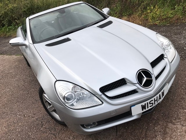 used Mercedes SLK SLK280 7G-Tronic 2dr in west-midlands