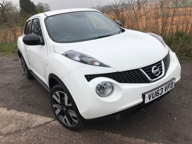 used Nissan Juke dCi N-TEC 5dr in west-midlands