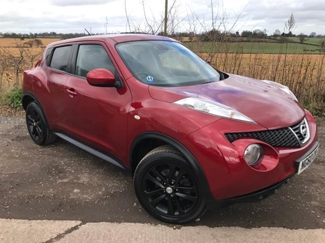 used Nissan Juke DIG-T Acenta 5dr in west-midlands